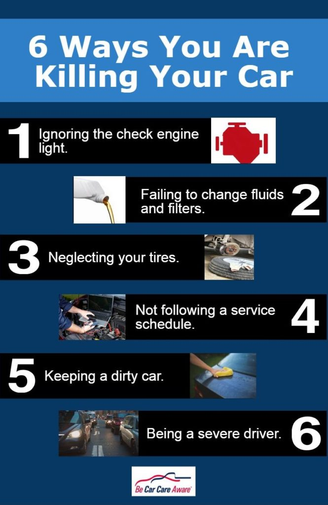 Costly Car Tune Up >> Six Ways You Could be Killing Your Car | Auto Care on ...